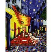 Tori Home 'Cafe Terrace at Night' by Vincent Van Gogh Wall Art