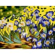 Tori Home 'Irises' by Vincent Van Gogh Wall Art