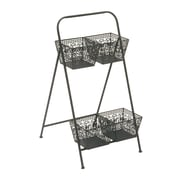 Cole & Grey Metal 2 Tier Rack