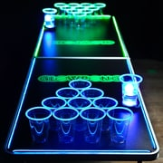 GlowPong Glowing Game Table; 27.75'' H x 2'' W x 6.5'' D