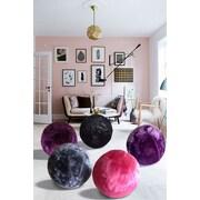 Rug Factory Plus Yoga Ball; Purple