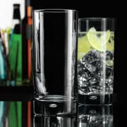 Home Essentials and Beyond Mix Bubble 17 oz. Highball Glass (Set of 4)