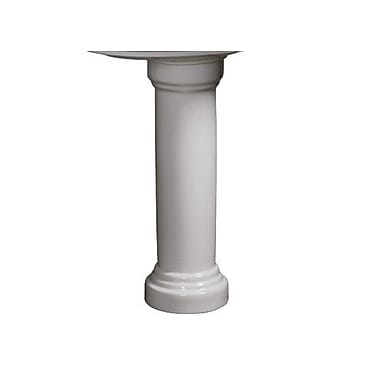 Danze Orrington Pedestal Column; White