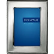 Royal Selangor Jefferson Satin FinishPewter Picture Frame; 4 x 6