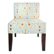 Divine Designs All Over Ikat Slipper Chair