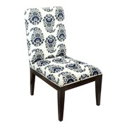 Divine Designs Beatrice Paisley Slipper Chair