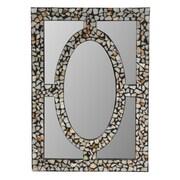 Crestview Stone Inlaid Mirror