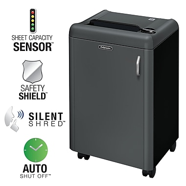 Fellowes® Powershred® HS-440 4-Sheet High-Security Shredder (3306301)