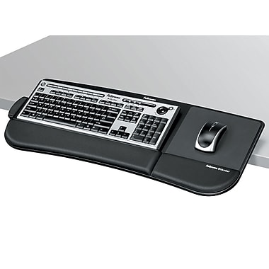 Fellowes® - Plateau pour clavier Tilt n' Slide Keyboard Manager, (8060101)