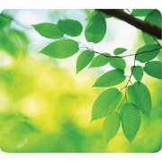 Fellowes® Recycled Optical Mouse Pad, Leaves (5903801)
