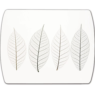 Fellowes® Ultra Thin Optical Mousepad, Frost Leaves Image (5904301)