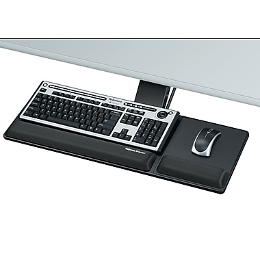 Fellowes® Designer Suites Compact Keyboard Tray, (8017801)