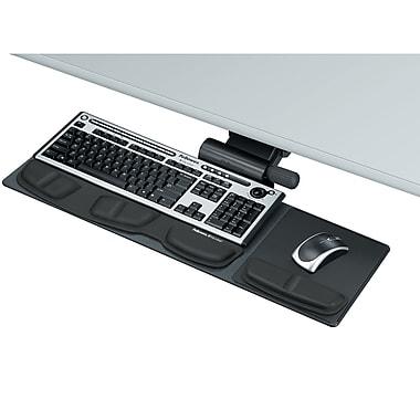 Fellowes® - Plateau compact de série professionnelle pour clavier, 8018001