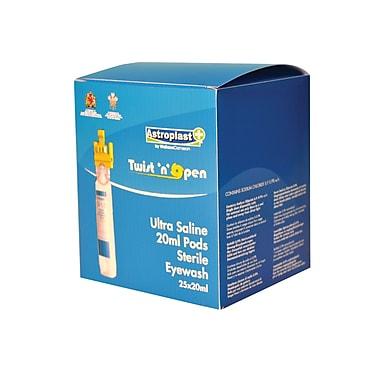Astroplast – Recharges de flacons de solution saline oculaire, 20 ml, paq./25