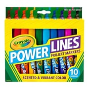 Crayola® Power Lines Project Marker, 10/Pack (58-8194)