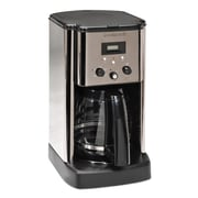 Cuisinart® CBC-00FR 12 Cups Refurbished Programmable Coffee Maker, Black/Silver