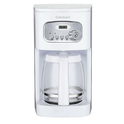 CuisinartDCC-1100FR 12 Cups Programmable Coffee Maker, Refurbished, White IM1UW2249