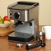 Cuisinart® EM-100FR 1-2 Cups Espresso Maker, Refurbished, Silver