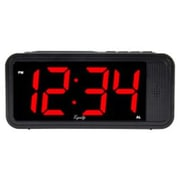 """Equity By La Crosse™ 6.5""""H x 2.9""""W x 2""""D LED Quick Set Alarm Clock (75907)"""