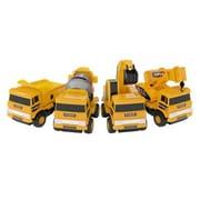 Mota® Mini Construction Toy Truck Set, Yellow (MTTY-TTSET-2)
