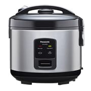 Panasonic 5 Cup Automatic Rice Cooker, Stainless Steel/Black (SR-JN105)