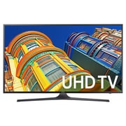 Samsung 6 Series UN43KU6300FXZA 43 inch 4K UHD LED LCD TV, Dark Titan by