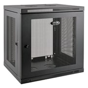 Tripp Lite SmartRack Low-Profile Switch-Depth-Plus Rack Cabinet, Black (SRW12UDP)