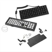 Zebra® USB 65-Key QWERTY Keyboard with Mounting Tray for Computer, Black (KT-KYBDQW-VC70-04R)