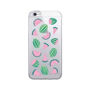 OTM  Prints Clear Phone Case, Watermelon Coral, iPhone 7/7S (OP-IP7V1CG-A02-55)
