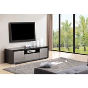 B-Modern Esquire TV Stand; Matte Black