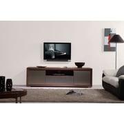 B-Modern Esquire TV Stand; Light Walnut