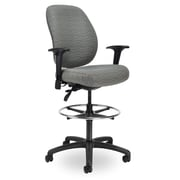 Seating Inc Contour II 400 Height Drafting Chair; Grey