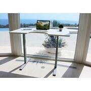 Vifah Smart Standing Desk with Electric Adjustable Height; Oak