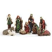 BurtonBurton 10 Piece Nativity Scene Set