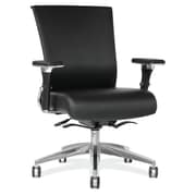 OfficeSource Henning Series Leather Executive Chair