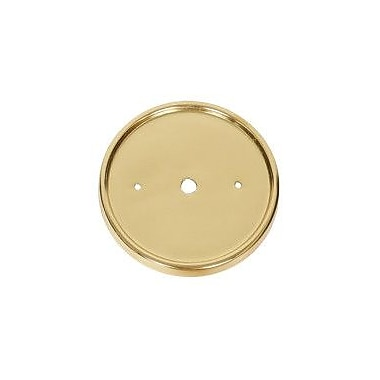 JVI Designs 3-Light Flush Mount; Polished Brass