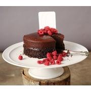 Creative Co-Op Farm Stoneware Cake Plate