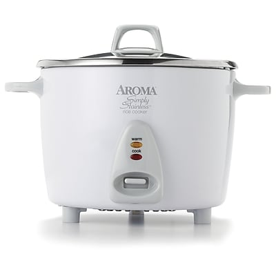 Aroma 14-Cup Simply Stainless Rice Cooker WYF078279203606
