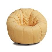 Gold Sparrow Marion Swivel Pumpkin Papasan Chair; Gold