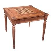 Butler 36'' Masterpiece Vincent Multi Game Table; Antique Brass