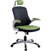 Hokku Designs Tarbo Mesh Desk Chair; Green