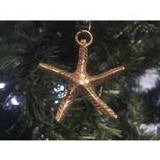 Handcrafted Nautical Decor Starfish Christmas Ornament