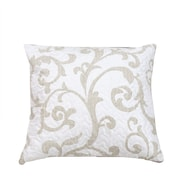 DaDa Bedding Freesia Vineyard Quilted Cotton Pillow Cover (Set of 2)