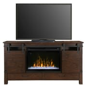 Dimplex Austin TV Stand with Electric Fireplace; Acrylic Ice