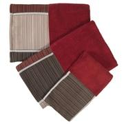 Popular Bath Products Modern Line 3 Piece Towel Set