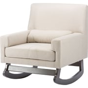 Wholesale Interiors Imperium Rocking Chair; Light Beige