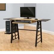Calico Designs Computer Desk w/ Keyboard Shelf