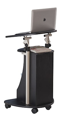 Brassex Adjustable Laptop Cart