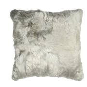 Aviva Stanoff Design Luxe Suri Throw Pillow; Silver