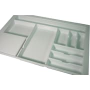 Vance Industries Trimmable Flatware Drawer Organizer w/ Poly Cutting Board